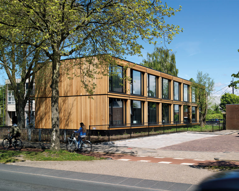 Finch Buildings Project in Leiden