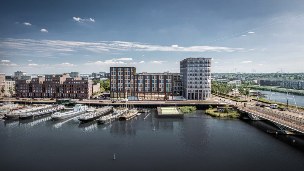 Finch Buildings IJburg Amsterdam kas kade